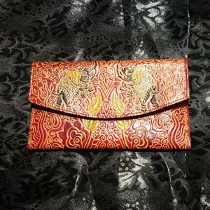 Handbags - Beautiful red leather wallet